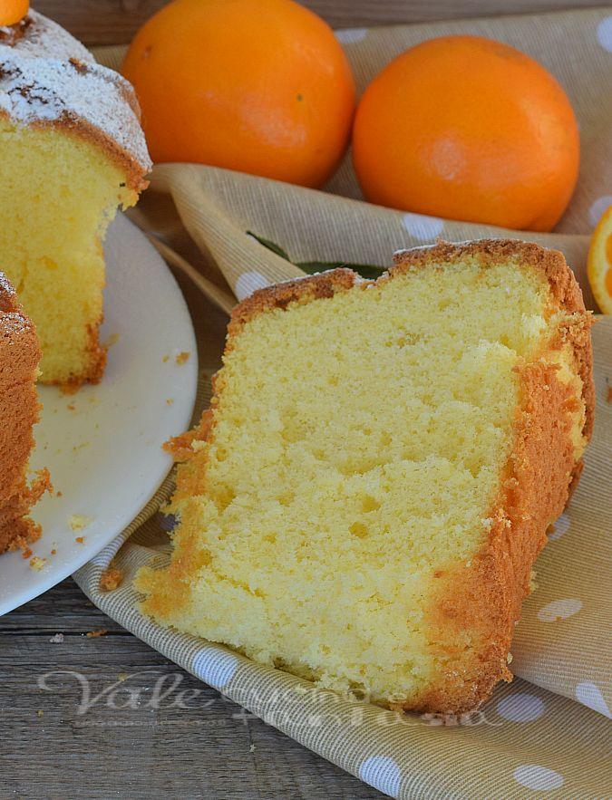 Photo of Chiffon cake all'arancia ricetta senza burro sofficissima e legge