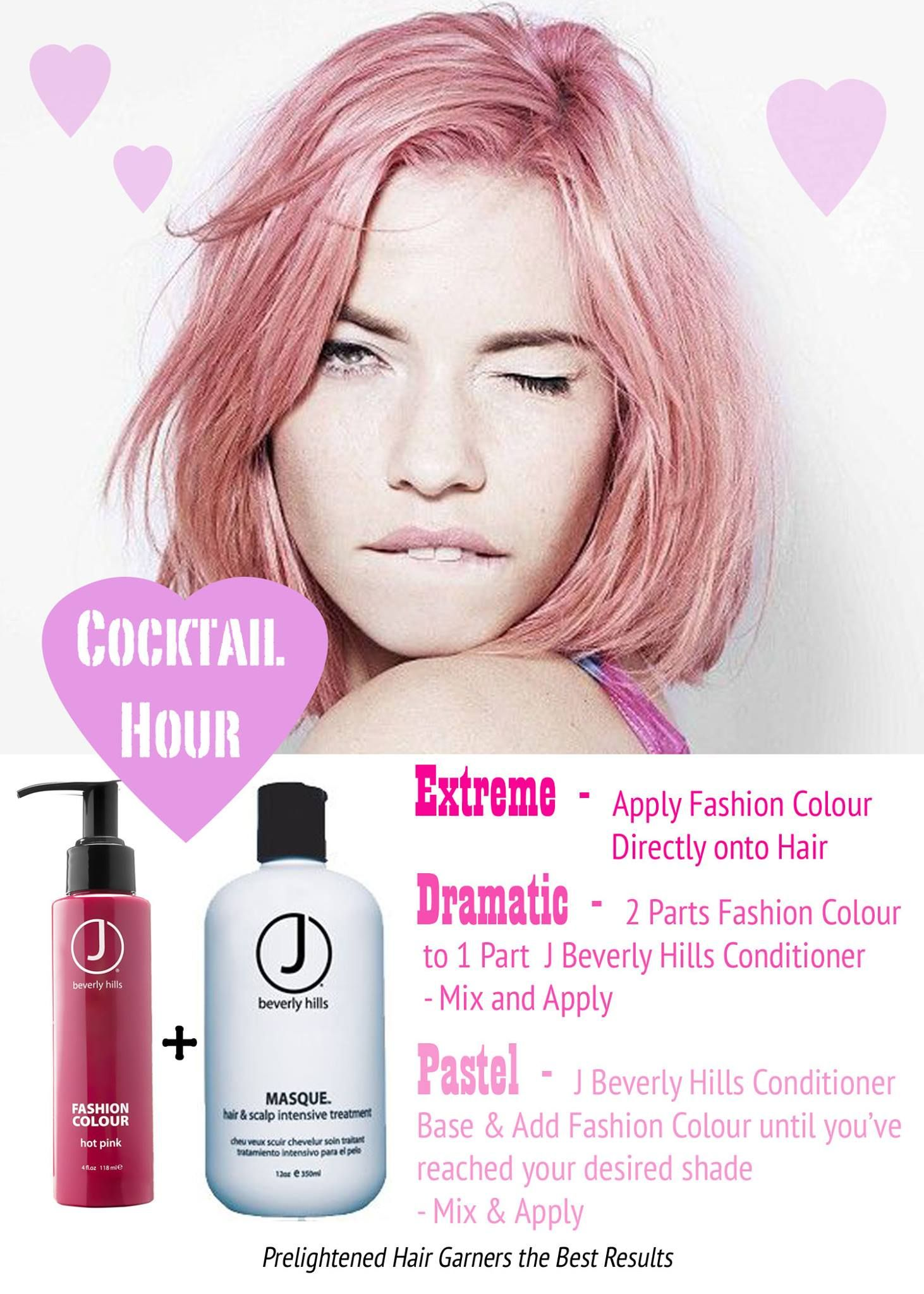 Make Any Shade Pastel With Mixing With Our Conditioner #Pastels
