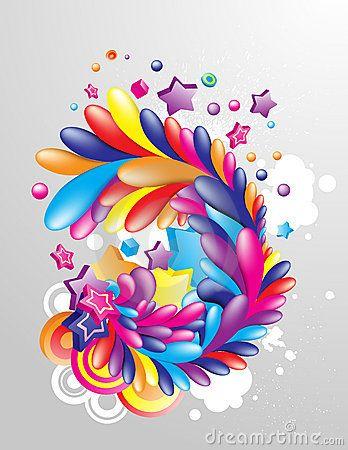 Multicolor_design_element