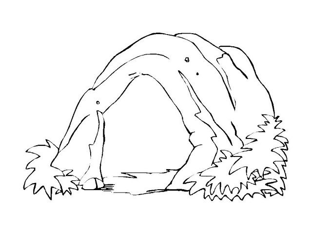 Cave coloring pages Coloring