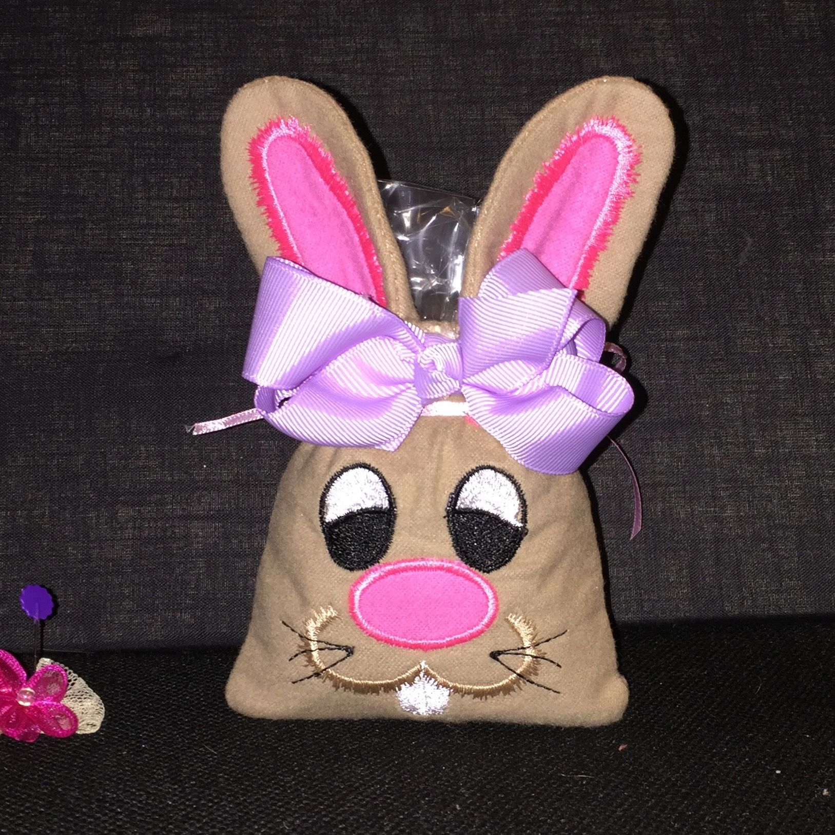 Easter bunny goodie bag ITH