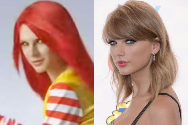 Is This Japanese McDonald's Model Taylor Swift or Her Long Lost Twin?