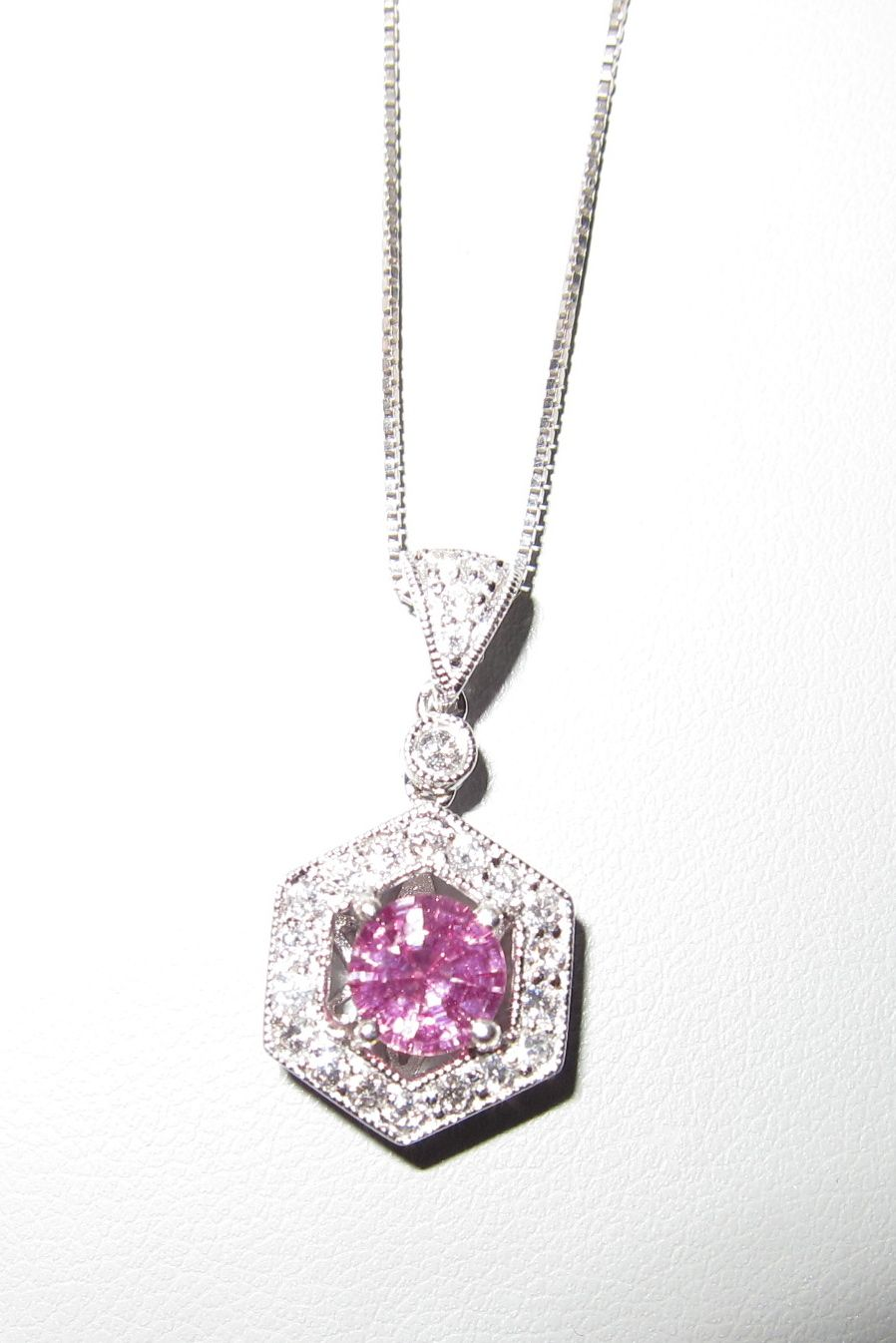 My 10 Yr Anniversary Gift I Love Pink Sapphires Pink Sapphire