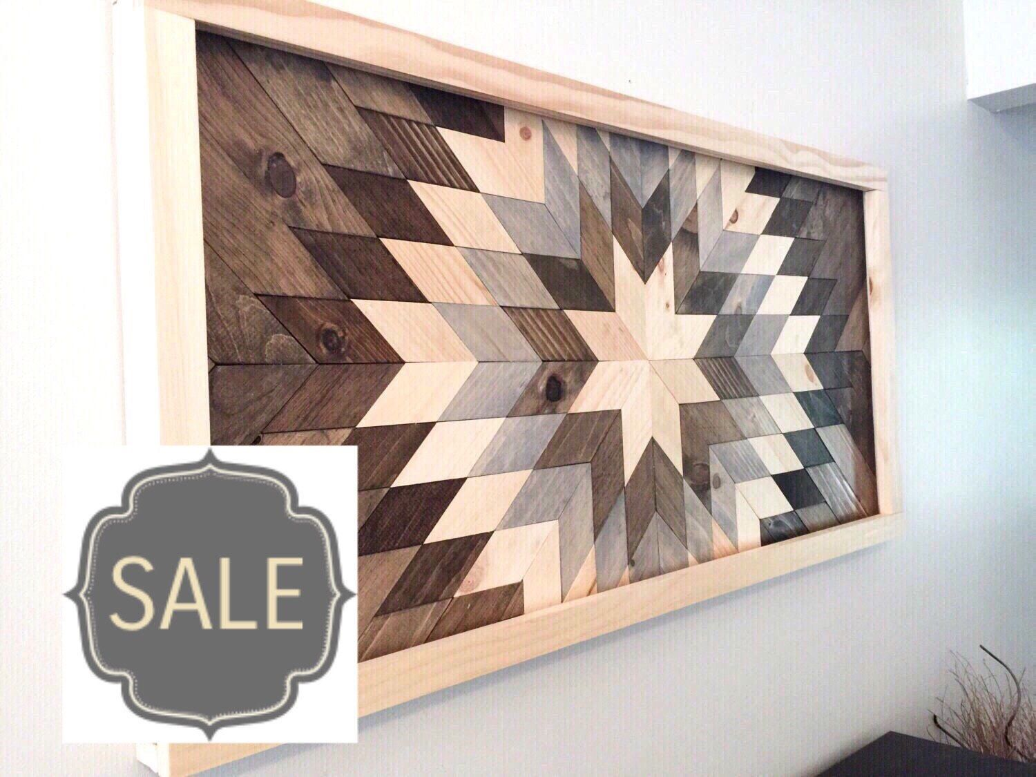 Merveilleux SALE* Reclaimed Wood Wall Art, Wood Wall Decor, Wood Art, Modern Wall