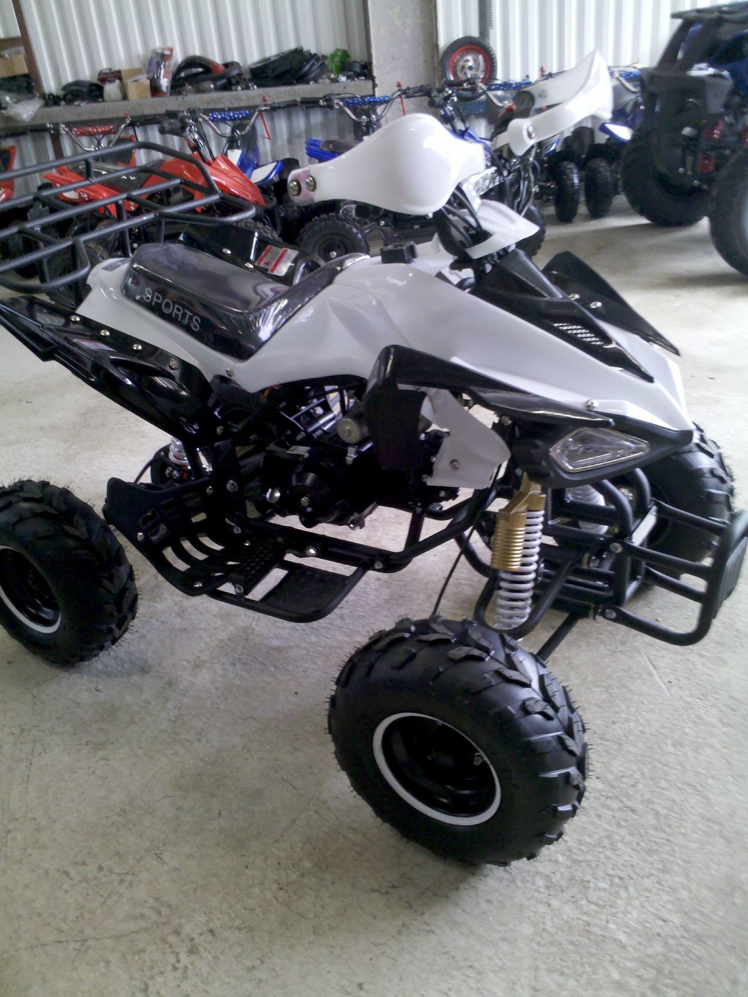 125cc Atv Quads Variety Of Colours Automatic With Remote