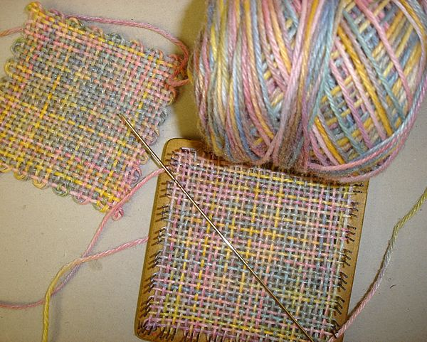 Weave It Loom What To Do With Variegated Yarn Im Not Going To Knit