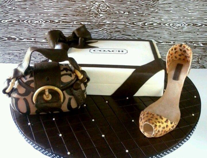 Coach Fashion Models | coach cake. @Ashleigh Weekley my birthday is in December ;)
