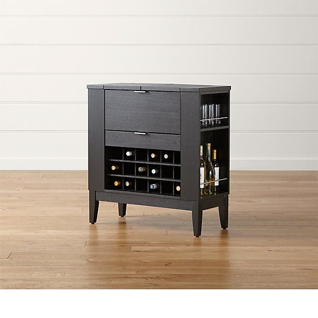 Parker Spirits Ebony Cabinet Bars For Home Cabinet