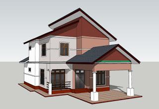 Proposed Residence For Mr Kapila Kadawatha Home Ideas House Plans House Plans In Sri Lank Porch House Plans Basement House Plans Open Floor House Plans