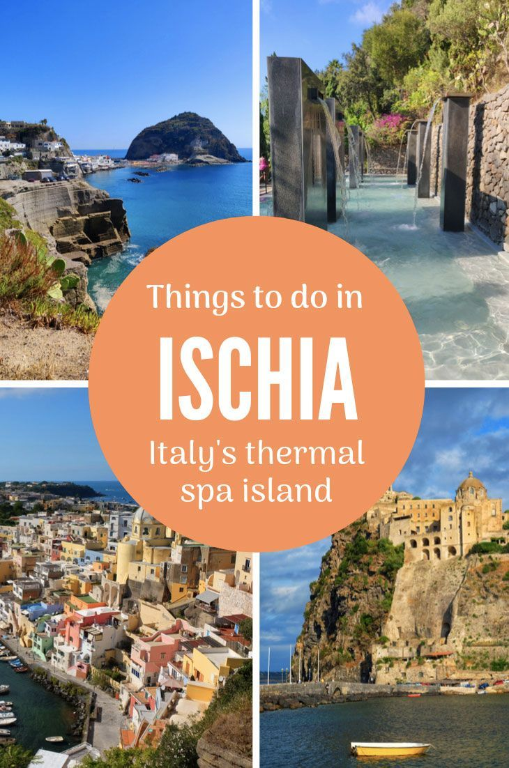 Visiting Ischia, Italy's island of thermal spas The beautiful Italian island of Ischia boasts over 100 thermal springs and a wealth of places to bathe in the therapeutic waters. But that's not all! When you visit Ischia you can also see Medieval castles, stunning beaches, lush gardens and much more - plus take day trips to the best attractions in this part of Italy. Here are the best things to do in Ischia - I promise you won't get bored!