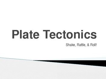 This PP on Plate Tectonics is geared for 6-8 grades. It is