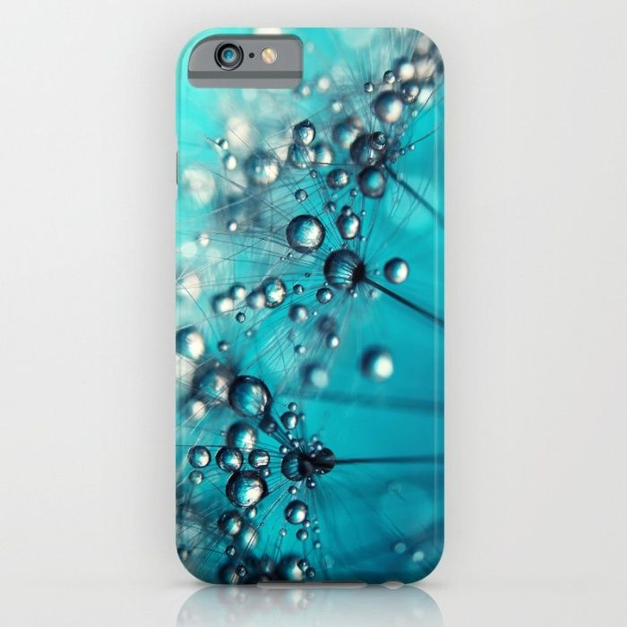 Sea Blue Shower Iphone Ipod Case By Sharon Johnstone Society6 Iphone Cases Case Iphone