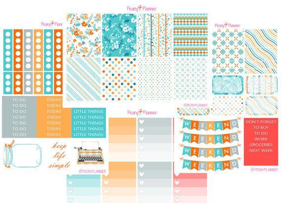 January Monthly Planner Stickers | Erin Condren, Happy Planner, Kikki K, Plum Paper etc