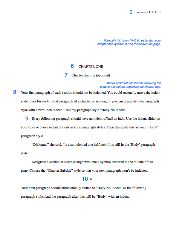 How To Format Your Novel Manuscript And Query Letter  Agents