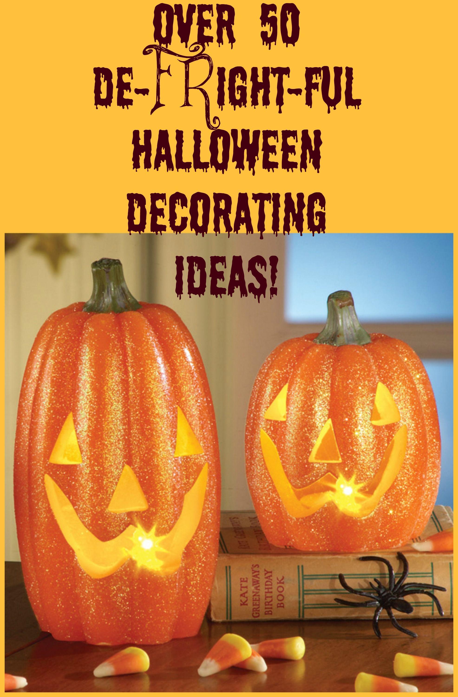 Halloween Decorating Ideas - Inexpensive decoration ideas for inside - cool halloween decoration ideas
