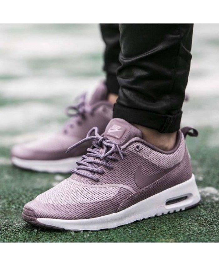 Chaussure Nike Air Max Thea Blanc Foncé Violet | Chaussures