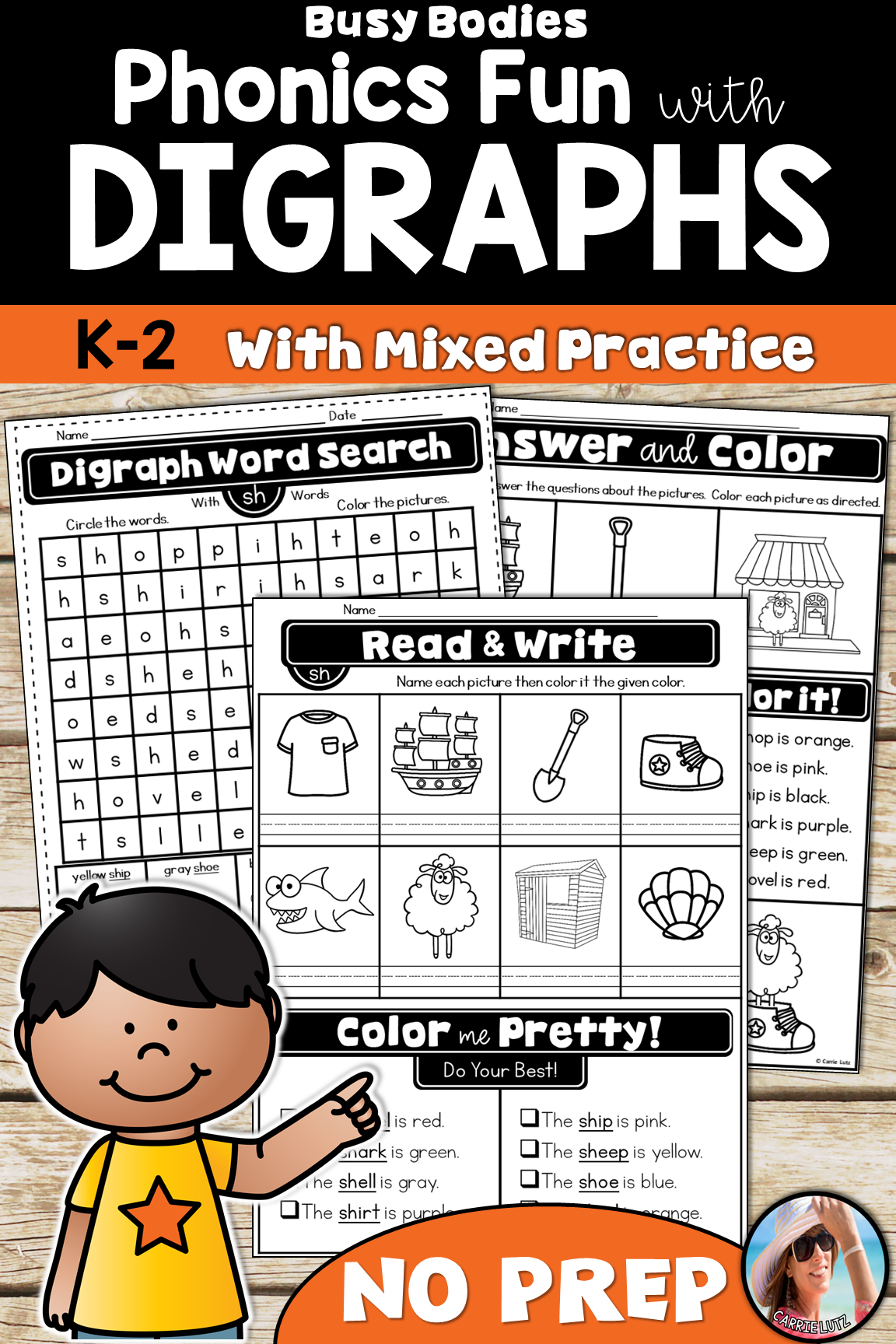 Digraphs Worksheets Distance Learning In