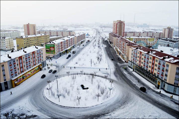 Nickel Mine City Norilsk Siberia Russia Abitare