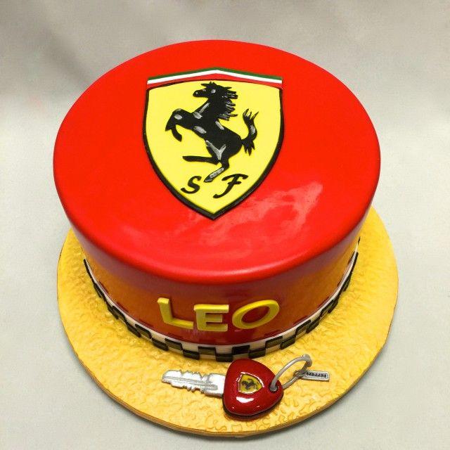Ferrari Logo Cake Torta Pokemon Torte
