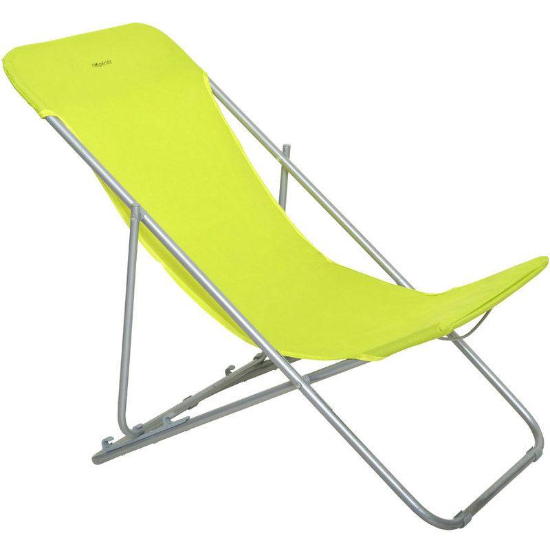 chaise longue pliante hesperide