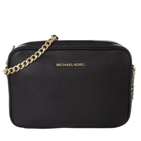 Michael Kors Tasche Bedford Lg Ew Crossbody Leather Black In Schwarz Umhangetasche Fur Damen Michael Kors Bedford Michael Kors Black