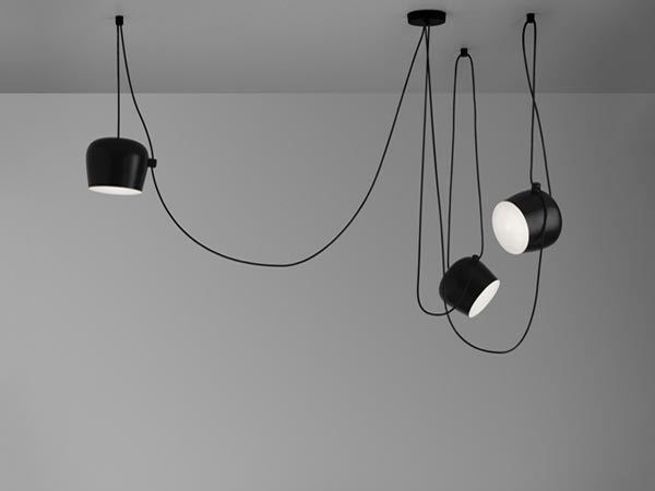 Aim contemporary style pendant lamp by flos design ronan erwan bouroullec