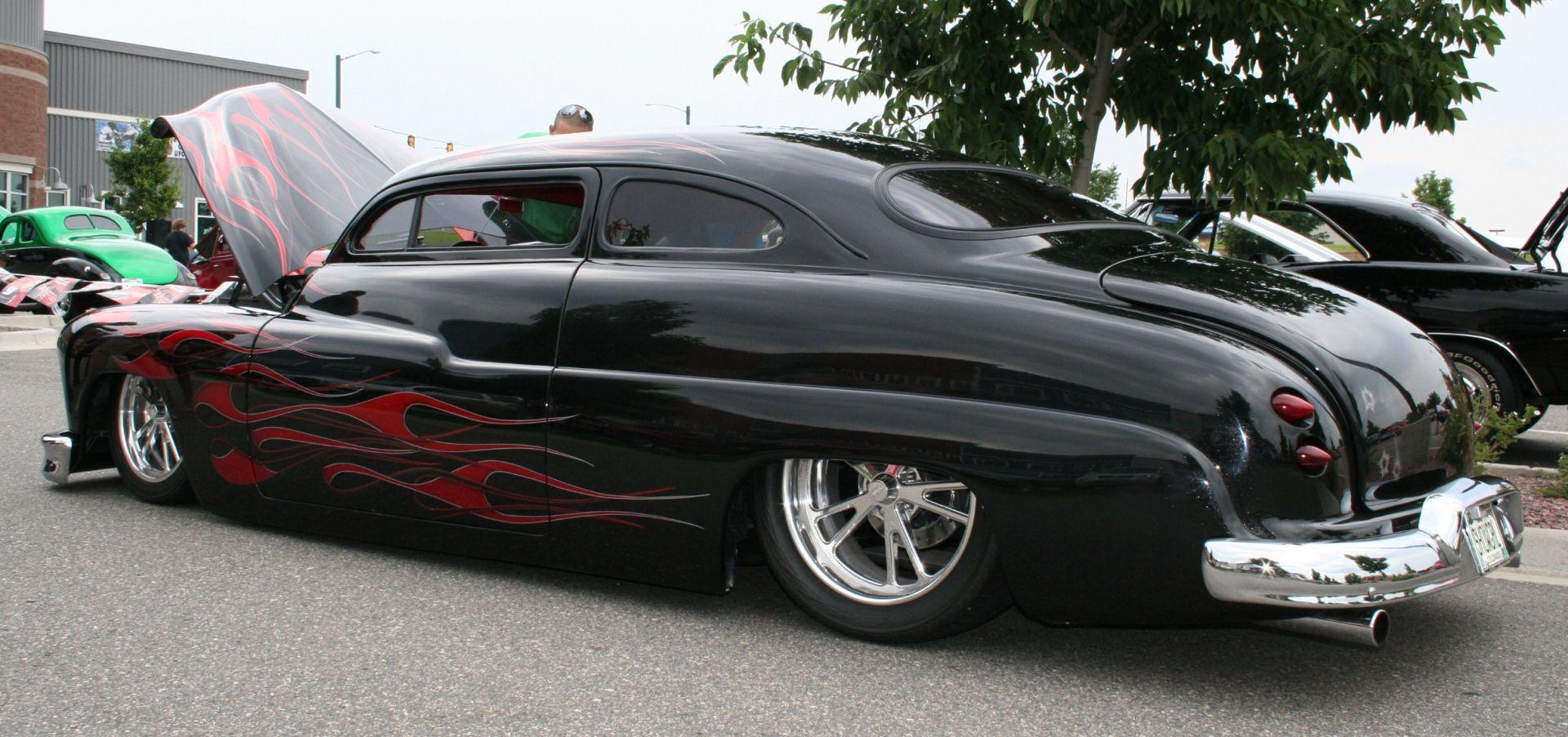 Used Car Values: Mercury Lead Sled (black with flames) | mercury 49 ...