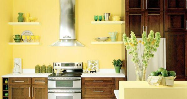 Wandgestaltung für die Küche u2013 Einrichtungslösungen nach jedem - wandgestaltung mit farbe küche