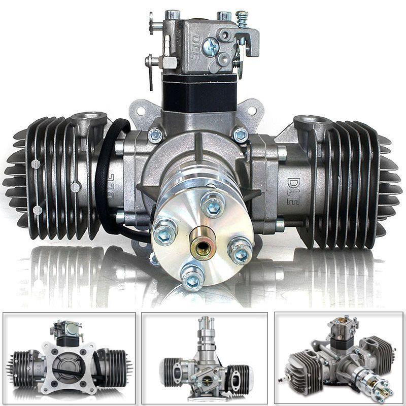 dle60 60cc gasmotor vergaser verbrennungsmotor auspuff 2. Black Bedroom Furniture Sets. Home Design Ideas