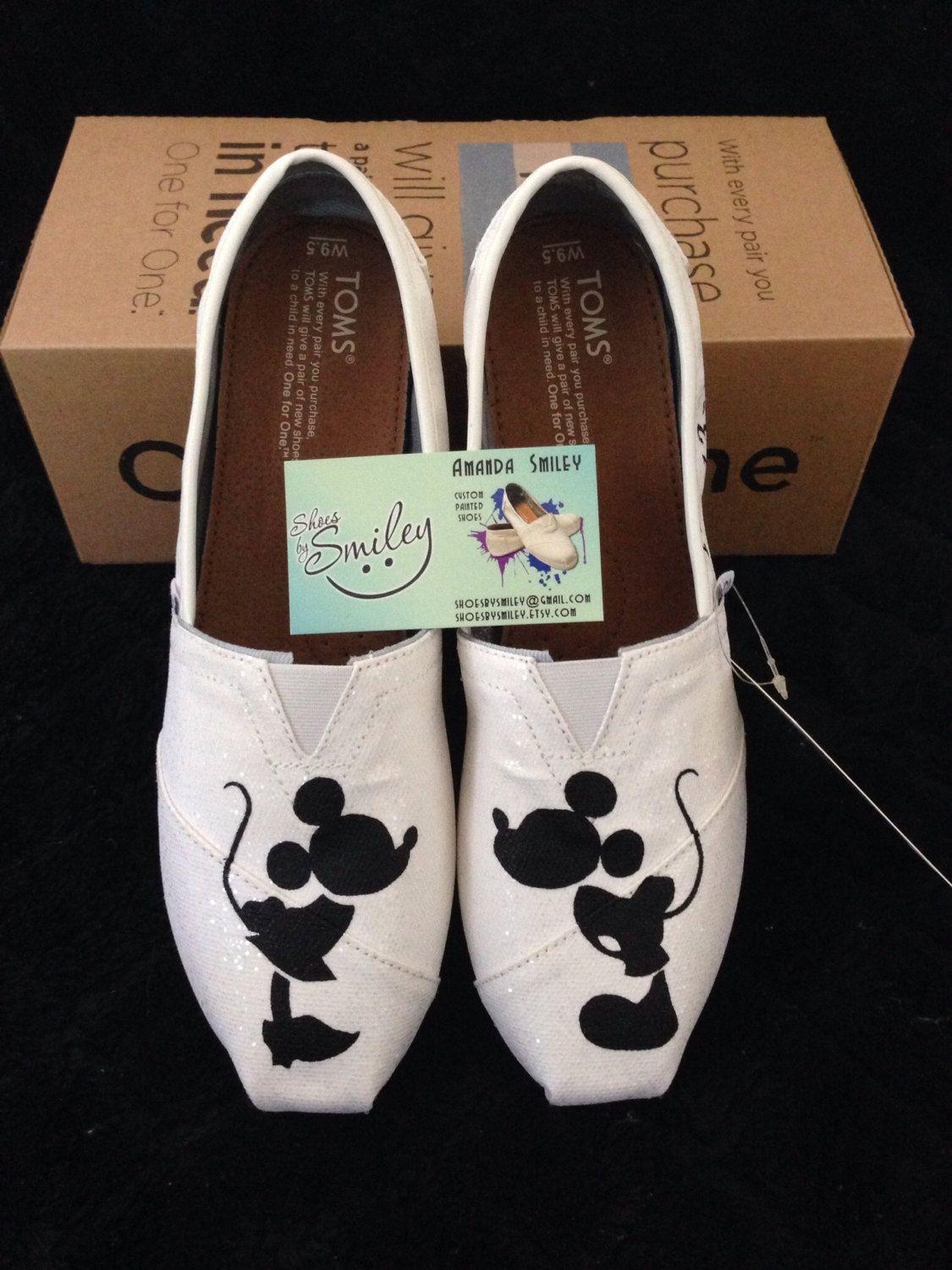 66d84da32ad1b So cute ) wedding shoes! Disney Mickey Mouse and Minnie Mouse Wedding by  ShoesBySmiley