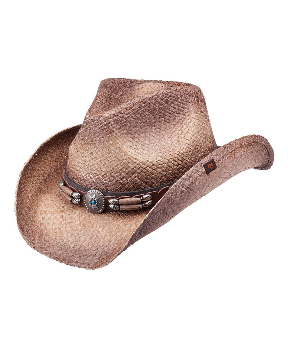 b3c95dd1ddcdd Peter Grimm Hats Brown Contraband Cowboy Hat by Peter Grimm Hats   zulilyfinds