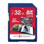 New MyMemory 32GB SD SDHC Memory Card Class 10 For Digital Camera
