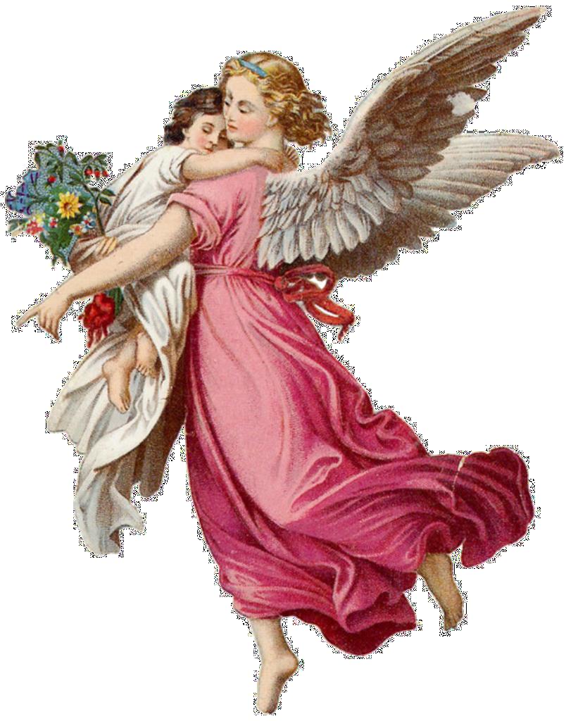 Clipart Angel Vintage Angel Pink Instant Digital Download Christmas Angel Scrapbooking Retro Christmas Christmas Craft