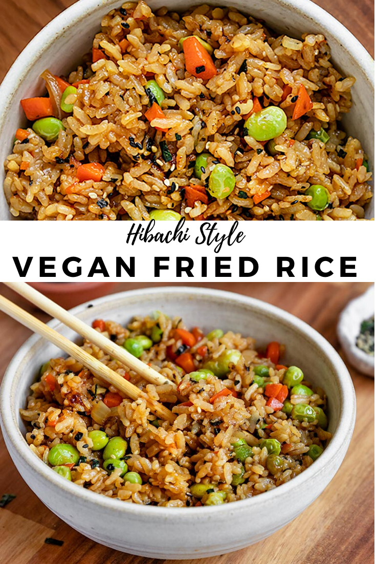 This truly is the BEST & EASY Vegan Fried Rice rec