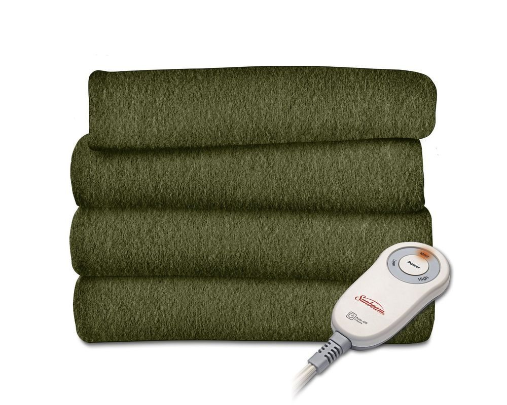 Electric Throw Blanket Walmart Unique Sunbeam Heated Throw Fleece Blanket Throw Heated Blanket Warm