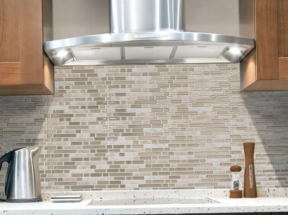 Smart Tiles Backsplash Lowes | Smart Tiles, RV, Apartment Ideas ...