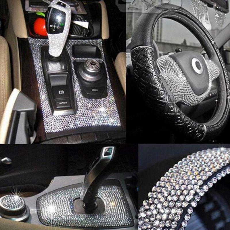 Decoration Diy Car Decal Crystal Diamond Rhinestone Scrapbooking Stickers