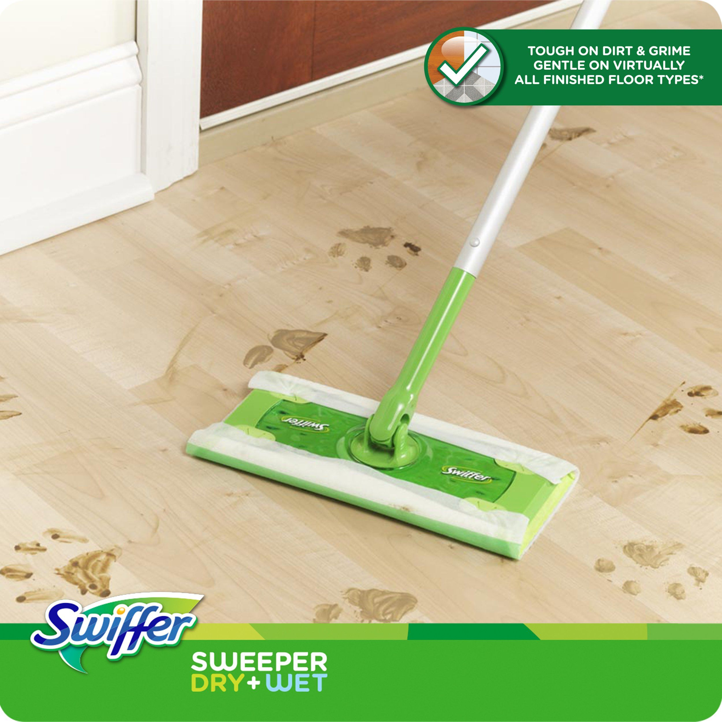 Reviewing The Swiffer Sweeper Floor Mop Clean Hardwood Floors