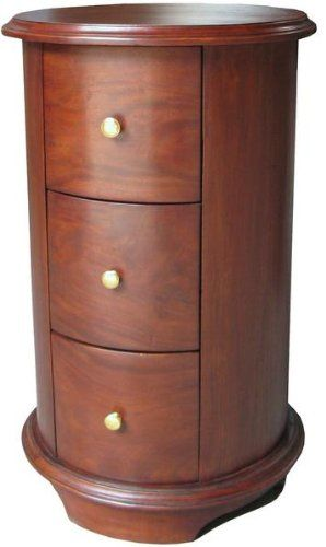 Best Unusual Modern Antique Reproduction Drum Bedside Table 3 400 x 300