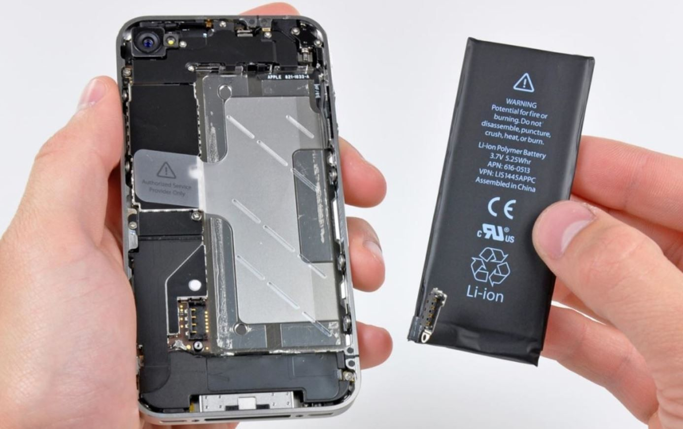 How does Apple check the battery status of your iPhone