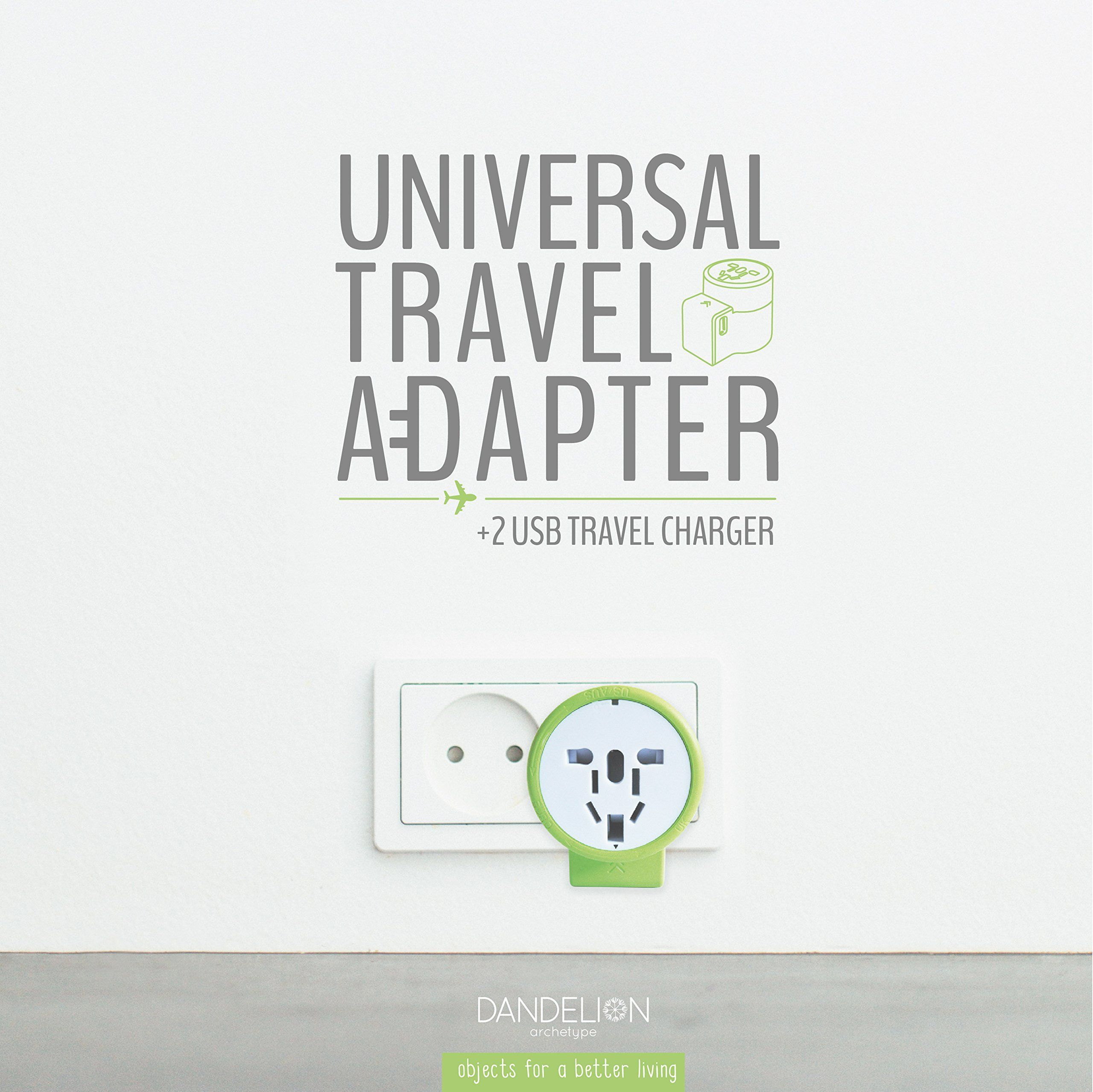 Travel Adapter Outlet Adapter Travel Accessory With Dual