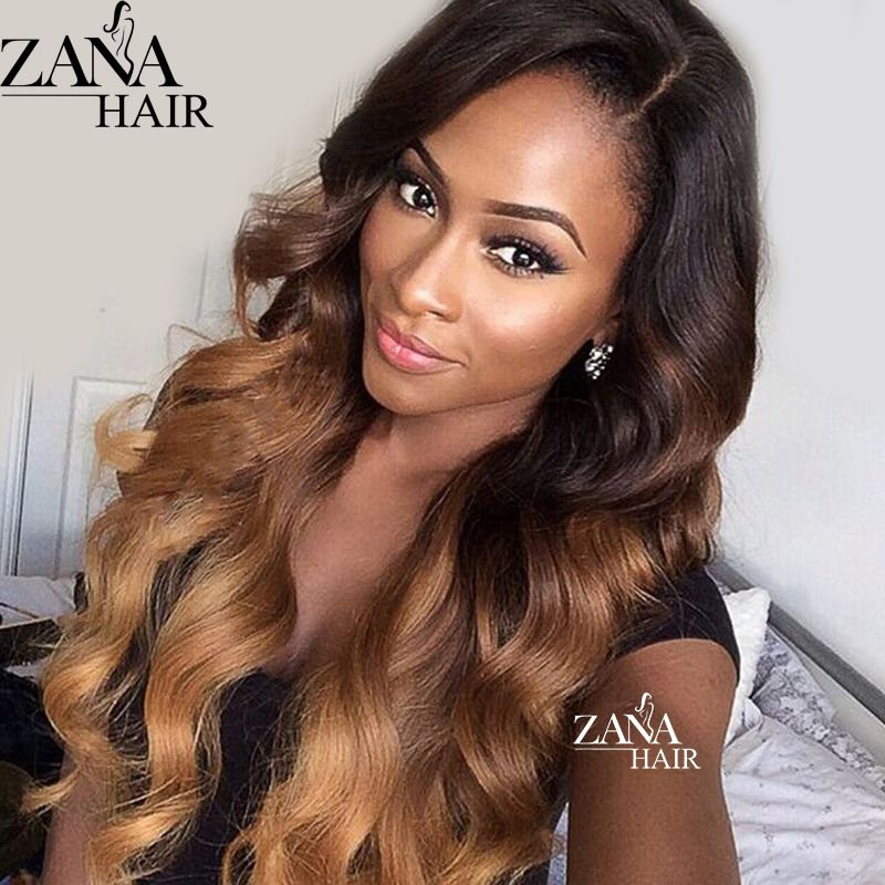 Find More Human Wigs Information About Highlight Blonde Brazilian Virgin Hair Lace Wig Wet Wavy Glueless Wig Hairstyles Hair Styles Ombre Human Hair Extensions