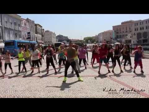 Nota de Amor - Wisin, Carlos Vives ft Daddy Yankee * Zumba by Vitor Monteiro - YouTube