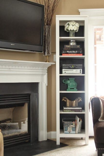 A lot of people are against the idea of hanging the TV above the fireplace, but sometimes it just makes the most sense to put it there.  I'...