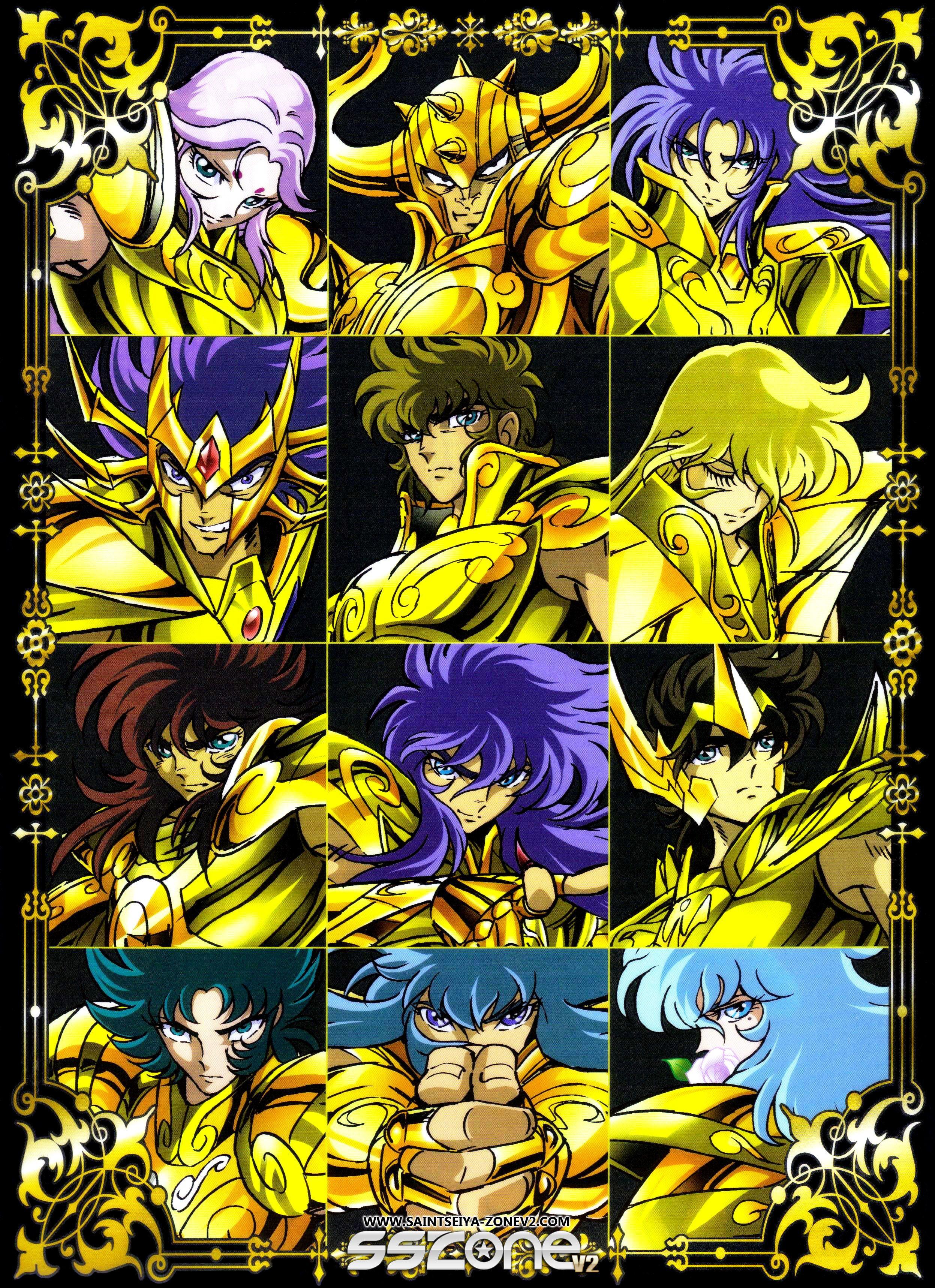Poster Saint Seiya Japan Anime Boy Room Wall Cloth Poster Print 33