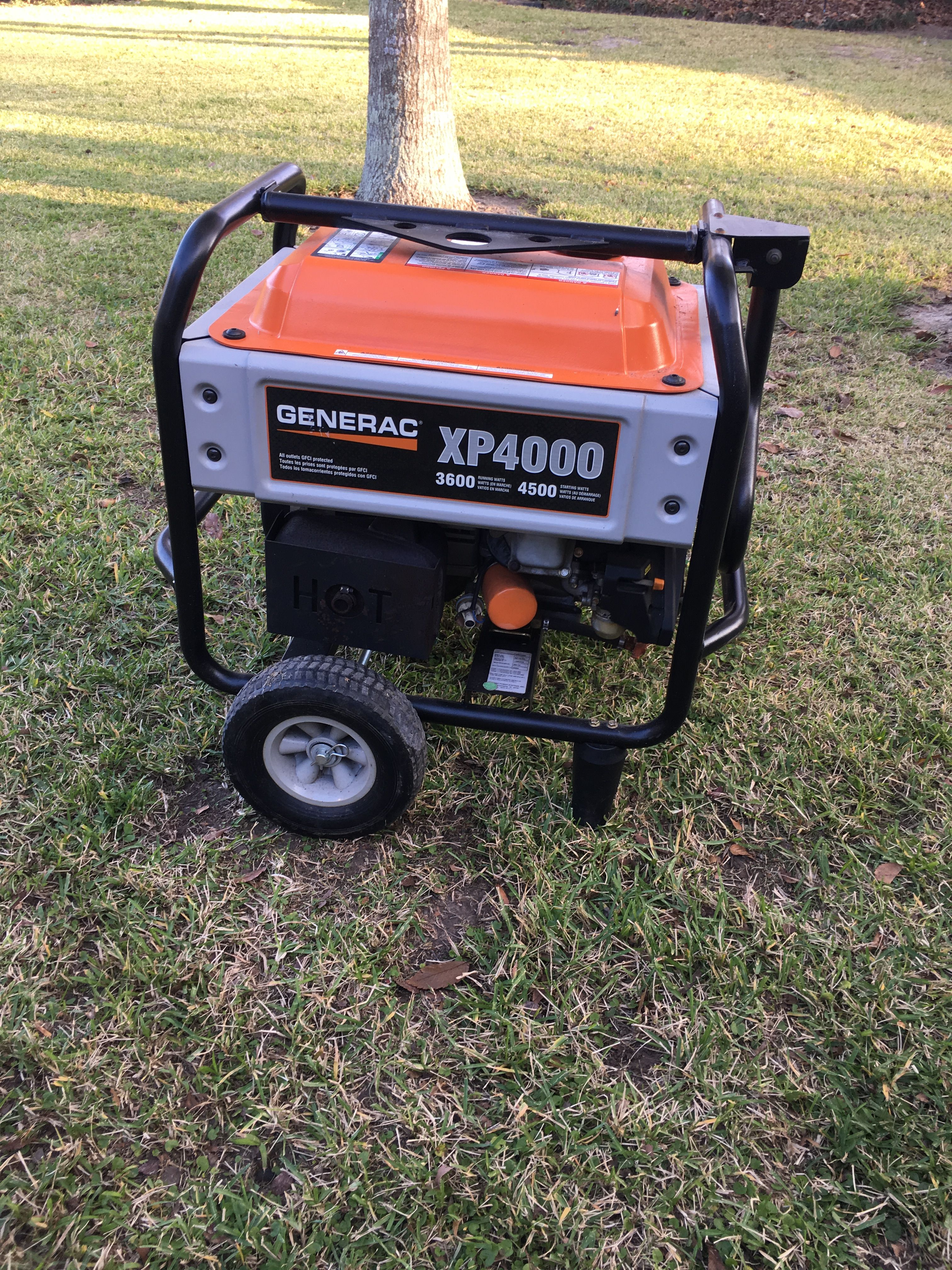 medium resolution of generac xp 4000 unit it not an inverter but is quieter than most generators very