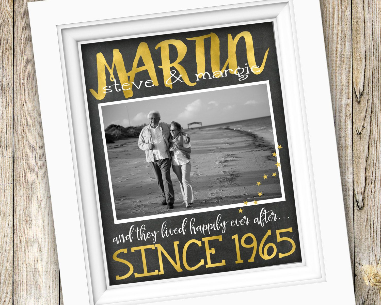 50th anniversary gift for parents printable anniversary