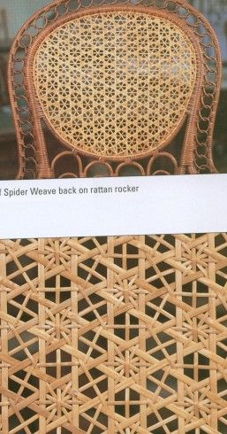 Snowflake Spider Weave Patterns 001 Weaving Caning Bamboo Weaving