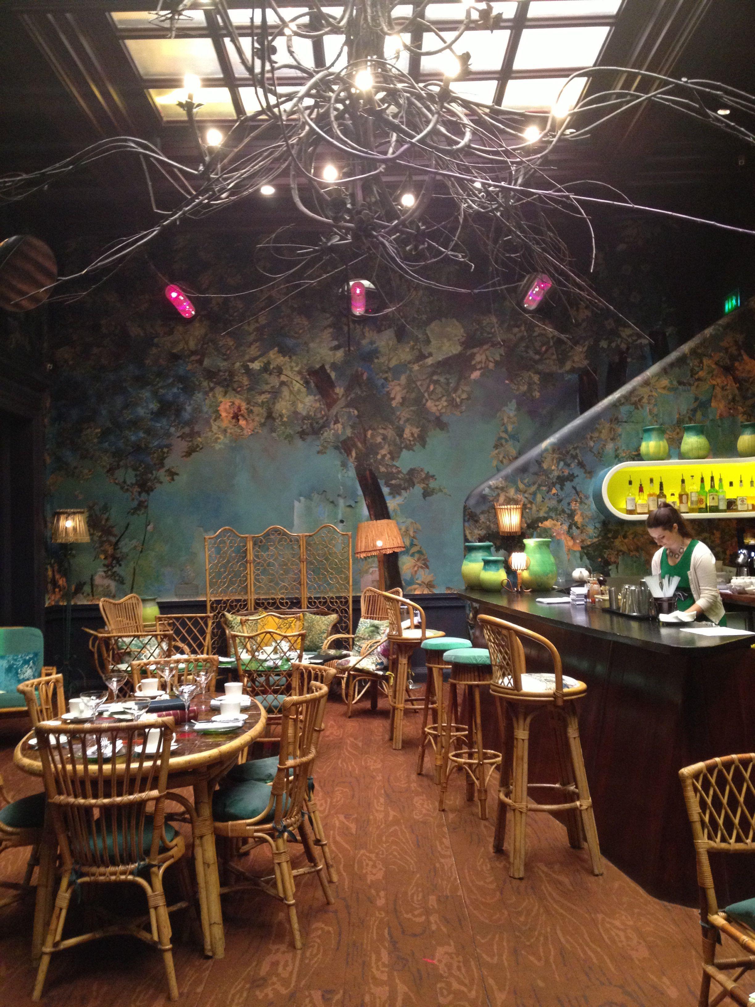 Sketch London Bar Design Restaurant Punk Decor Restaurant
