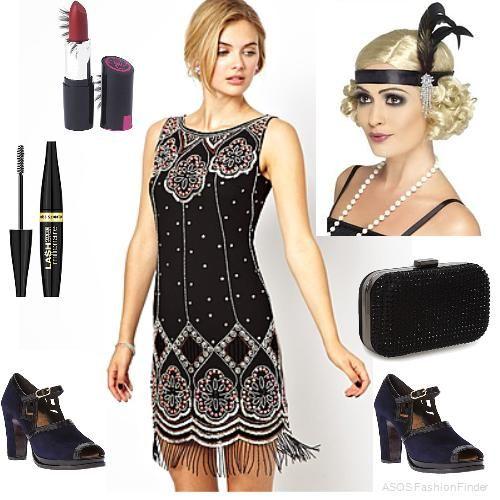 1920s style dresses asos